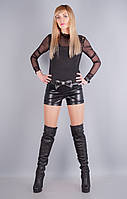 Кисс.Молодежные женские шорты.Черный.(Р)., фото 1