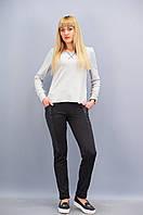 Рино. Молодёжные женские брюки. Черный.