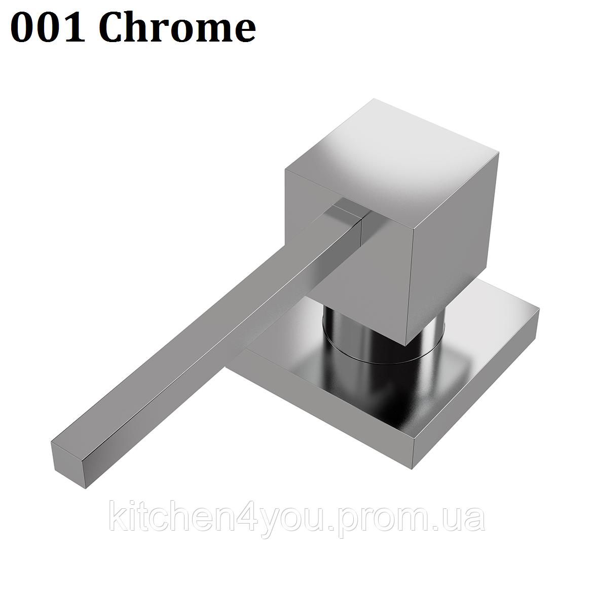 Дозатор для рідкого мила 500 ml. AquaSanita DQ-001 хром