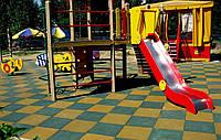 Резиновая плитка для спортивных площадок., фото 1
