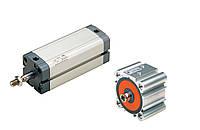 Пневмоцилиндр компактный по ISO 15552, 21287 и UNITOP