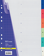 Разделитель 1-6 ВМ.3210 (кольоровий, пластик)