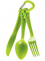Столовый набор SEA TO SUMMIT Polycarbonate Cutlery Set  green