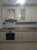 Небольшая  кухня  «Оскар» , молочного цвета