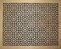 Решетка на радиатор №57, фото 1
