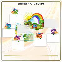 Выставка для  детских работ по лепке и рисованию код G18012