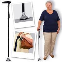 Складная трость с подсветкой ultimate magic cane лучший подарок  для родных