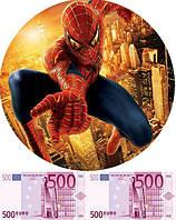 Человек паук 3 Вафельная картинка