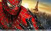 Человек паук 4 Вафельная картинка
