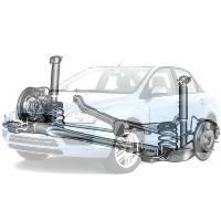 Детали подвески и ходовой Ford Focus Форд Фокус 2005-2008