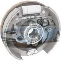 Барабанные тормоза Ford Focus Форд Фокус 2005-2008