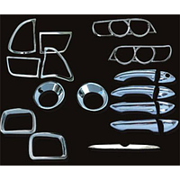 Набор декоративных накладок BMW X5' (00-03) (LHD) (19 ед)
