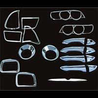Набор декоративных накладок BMW X5' (04-06) (LHD) (19 ед)