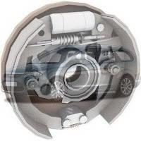 Барабанные тормоза Ford Focus Форд Фокус 2008-2010