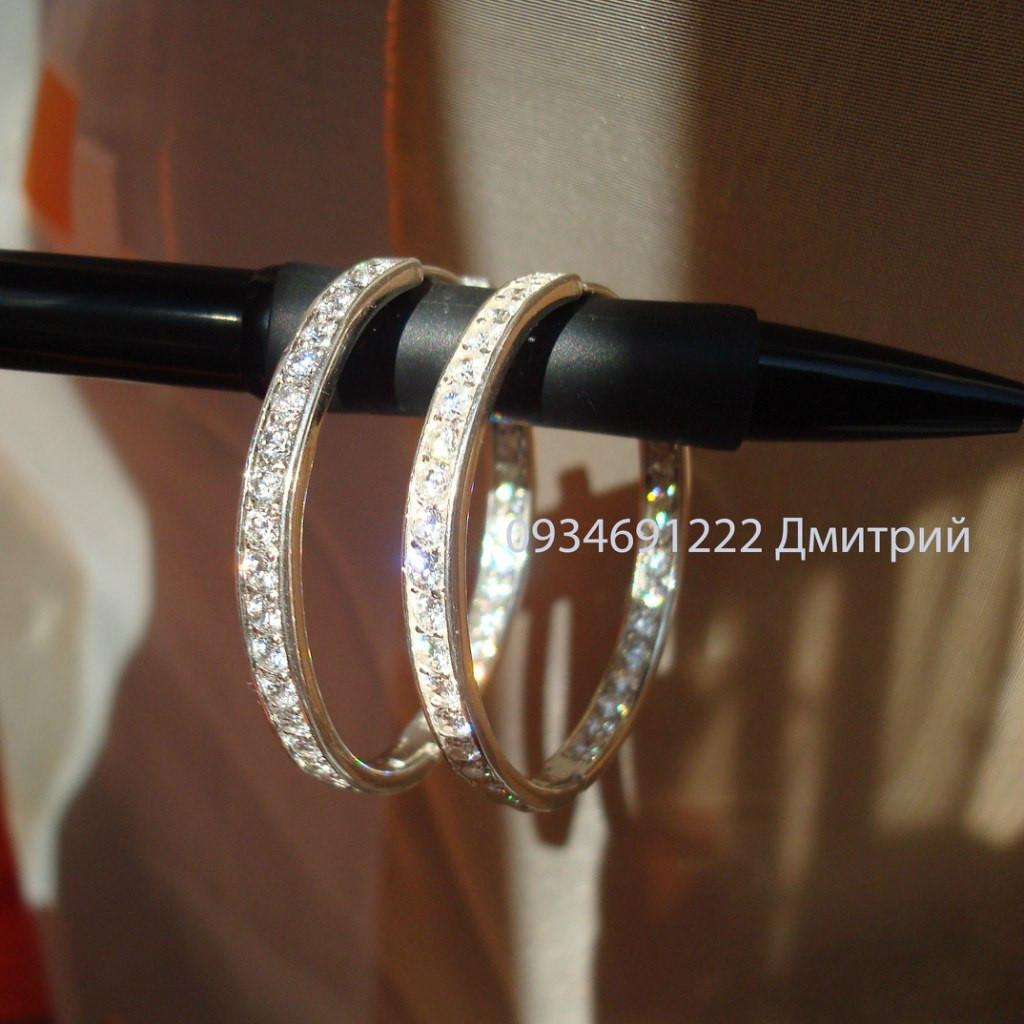 кольца с камнями серьги фото