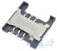 (Коннектор) Aksline Разъем SIM-карты Lenovo A3000H / A5000 / A788T