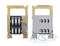 (Коннектор) Aksline Разъем SIM-карты Nokia 202 Asha / 203 Asha / 300 Asha / 311 Asha