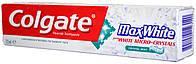 Зубная паста Colgate Max White Bialymi Micro-Crystals 125мл.