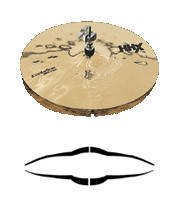 """Тарелка хай-хет SABIAN 14"""" HHX Evolution Hats Brilliant"""