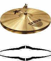 "Тарелка хай-хет SABIAN 14"" XS20 Rock Hats NEW"