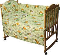 """Детский спальный комплект """"Сладкий сон"""" (4 предмета), салатовый"""
