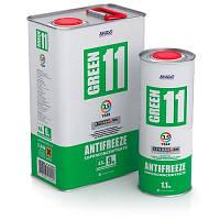Концентрат антифриза для двигателя Antifreeze Green 11 1.1л