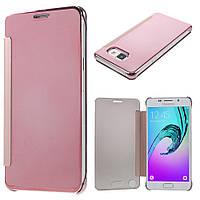 Чехол книжка Clear View Cover для Samsung Galaxy A5 2016 A510 розовый