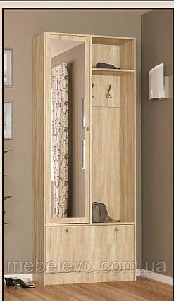 Прихожая  Палермо 2160х848х352мм    Мебель-Сервис, фото 2