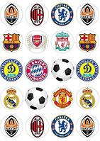 Футбол 1 вафельная картинка