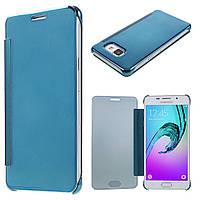 Чехол книжка Clear View Cover для Samsung Galaxy A5 2016 A510 голубой