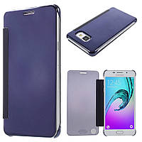 Чехол книжка Clear View Cover для Samsung Galaxy A5 2016 A510 синий