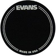 Кикпэд EVANS EQPB1 EQ PATCH BLACK SINGLE