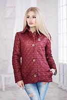 Женская  весенняя стеганная курточка - пиджак