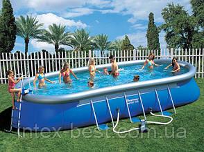 Надувной бассейн Bestway 56119 (610x366x122 см. ), фото 3