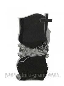 Поодинокі пам'ятники з граніту (Зразки №254)
