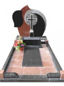 Поодинокі пам'ятники з граніту Житомир (Зразки №256)