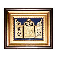 Икона Богоматерь Казанская с миниатюрами