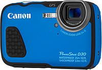 Фотоаппарат Canon PowerShot D30 Blue