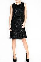 Черное платье в пайетках - Patrizia Pepe