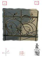 Кованые решетки для окон и дверей