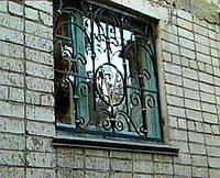 Кованые решетки на окна болконы