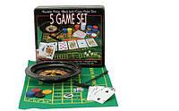 Покер 7703703 рулетка, полотно, карты, кубики, фиш