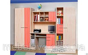 Детская Денди  1950х3100х540мм    Мебель-Сервис, фото 2