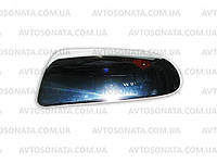 Накладки на зеркала Chevrolet AVEO ll хром