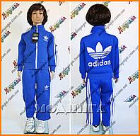 Детский костюм адидас - Большой логотип, воротник стойка