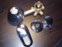 Кран для гидробокса в сборе, на 4 режима (с резьбой)