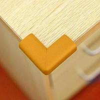 Защитный уголок на мебель от детей - стандартный. Светло-коричневый.