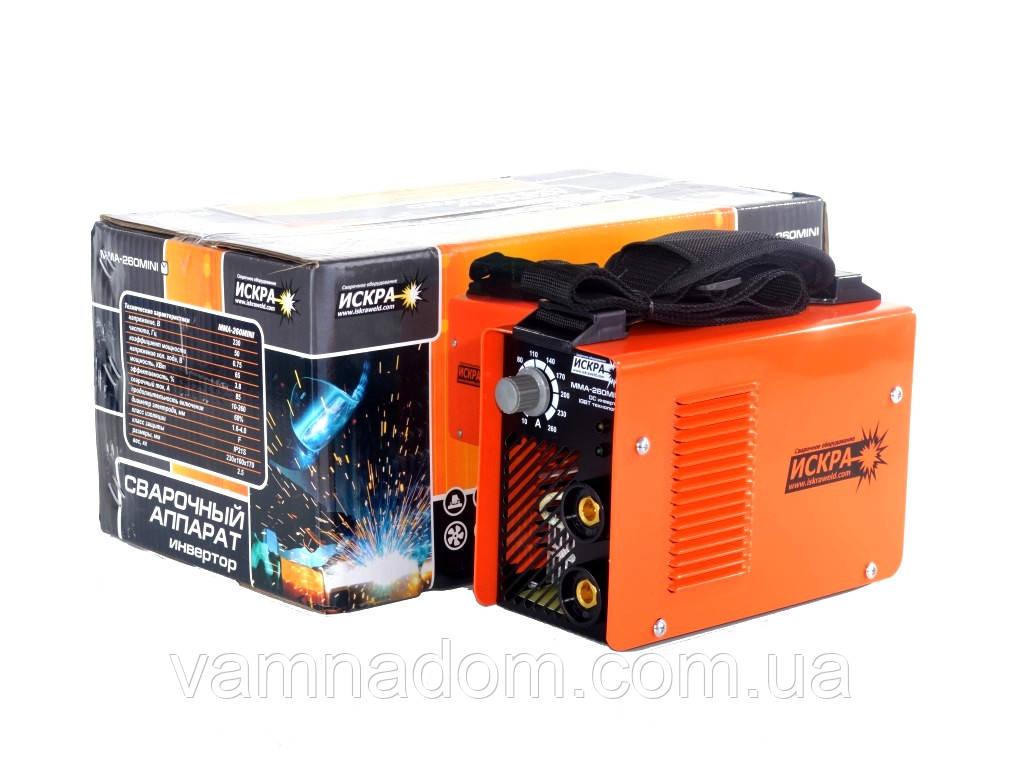Инверторный сварочный аппарат Искра MMA-260 Mini