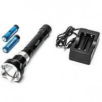Подводный фонарь BL-2803 T6 Police, фонарь для дайвинга, фонарь для подводной охоты, теплый свет.