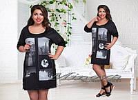 Платье туника  Ткань трикотаж производство Турция Размер 50-56